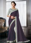 Lovely Maroon Silk Designer Saree